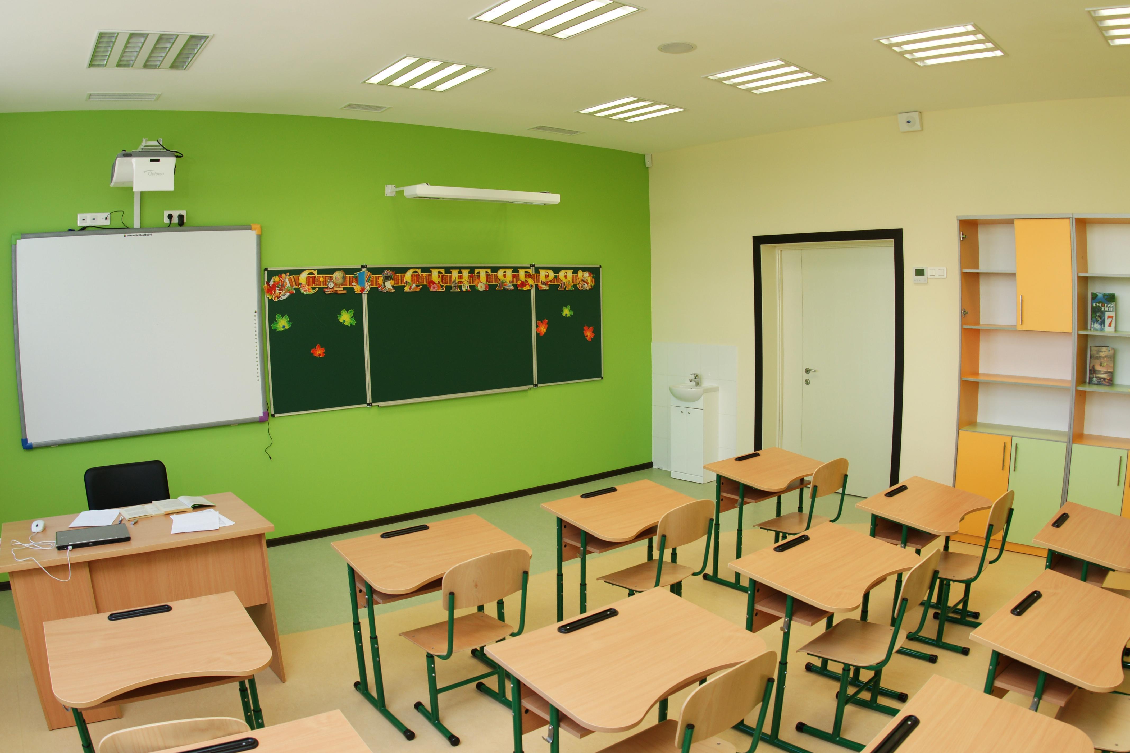 ремонт класса в школе фото высокой
