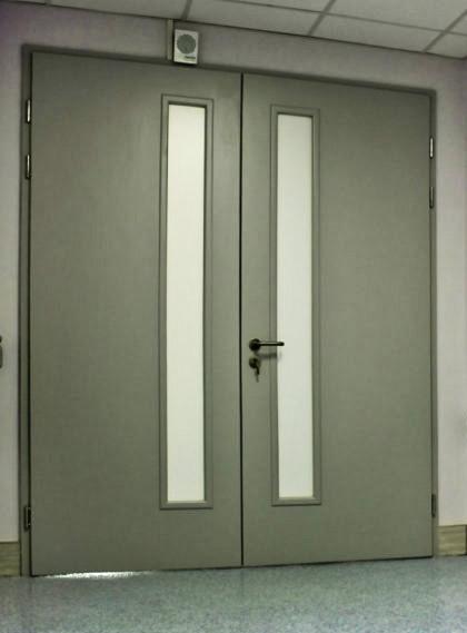 Двери для медицинских учреждений и больниц от ЭРМАНАС