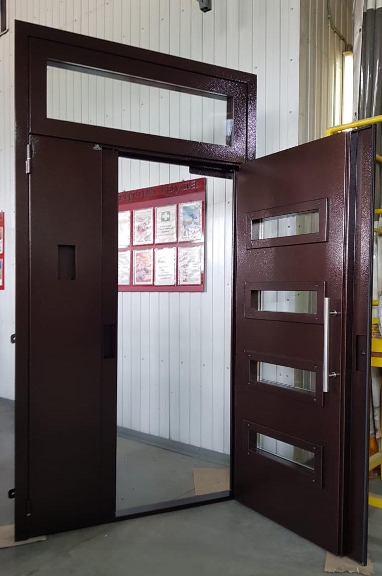 Двери для подъездов от ЭРМАНАС
