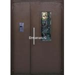 Дверь подъездная ДП/МДФ2-ОР2 2100х1300